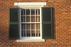 Gmach sądu, znać jako Mclean dom przy Appomattox, Virginia, miejscem poddanie i końcówką Cywilna wojna, Obraz Royalty Free
