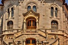 Gmach sądu Monaco HDR zdjęcie stock