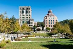 Gmachu sądu & miasta budynek Obraz Royalty Free