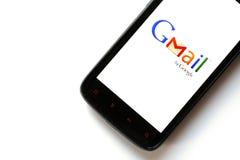Gmail Telefon Lizenzfreies Stockfoto