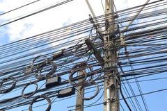 Gmatwanina kabel Obrazy Stock