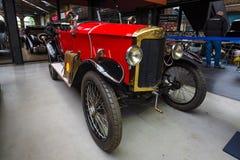 Gmbh汽车公司的自我的第一个模型Autobau -自我4/14 PS 1923年 免版税库存图片