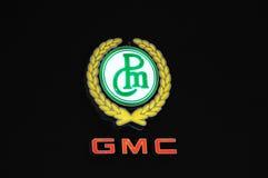 gmc徽标 库存图片