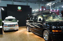 Gmc booth Stock Image