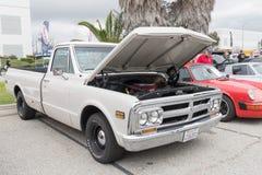 GMC C15 LB pickup 1970 na pokazie Zdjęcia Stock