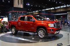 GMC canyon car on display at the Chicago Auto Show Royalty Free Stock Photography