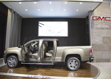 GMC Canyon Super 44 Flowmaster SUV at the 2014 New York International Auto Show Royalty Free Stock Photo