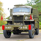 GMC CCKW 353 Flatbed truck US Army. Royalty Free Stock Photos