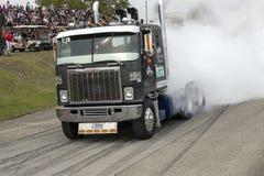 GMC-de vrachtwagenrook toont Stock Afbeeldingen