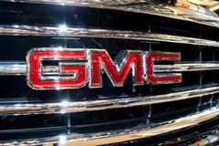 GMC emblem. Logo of the General Motors truck division,GMC Stock Image