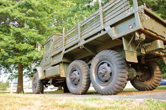 GMC Military Cargo Truck Royalty Free Stock Photography