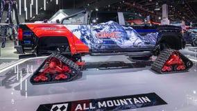 2018 GMC-Siërra 2500 HD Al Terrein X Concept, NAIAS Stock Afbeelding
