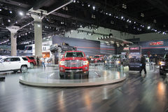 GMC stand Royalty Free Stock Photo