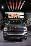 GMC truck at the auto show Stock Images