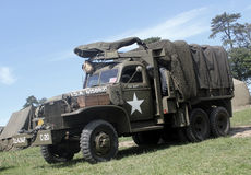 GMC truck Normandy 2014. Anniversary D-Day royalty free stock photography