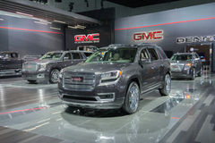 GMC trucks on display Royalty Free Stock Photography