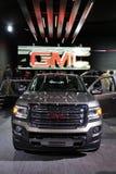 GMC-vrachtwagen bij de autoshow Stock Afbeeldingen