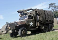 GMC-vrachtwagen Normandië 2014 Royalty-vrije Stock Fotografie