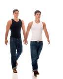 Gêmeos ocasionais Fotos de Stock