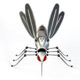 GMO机器人蚊子 免版税库存图片
