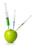 GMO概念 免版税库存照片