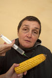 GMO corn Stock Images