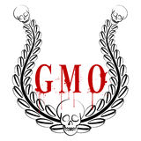 GMO emblem Royalty Free Stock Photos