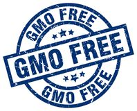 Gmo free stamp. Gmo free grunge vintage stamp isolated on white background. gmo free. sign vector illustration