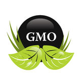 Gmo free sign Stock Photos