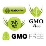 Gmo free sign Royalty Free Stock Image