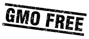Gmo free stamp. Gmo free grunge vintage stamp isolated on white background. gmo free. sign royalty free illustration