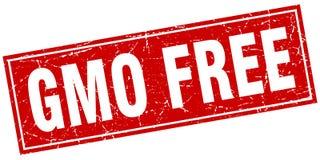 Gmo free stamp. Gmo free square grunge stamp. gmo free sign. gmo free vector illustration