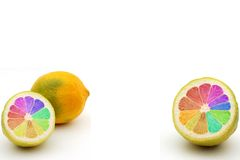 GMO lemon Royalty Free Stock Photography