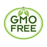 GMO libera Logo Icon Symbol Immagine Stock