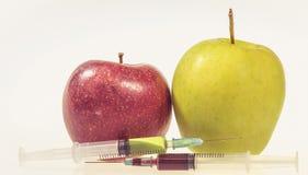 GMO mat Arkivbilder