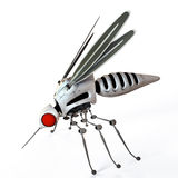 GMO robot mosquito Royalty Free Stock Image