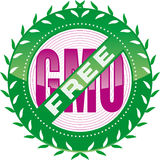 GMO-vrij stock illustratie
