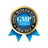 GMP - Bonne pratique de fabrication illustration libre de droits