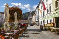 Gmuend in Kaernten, Oostenrijk Stock Afbeeldingen
