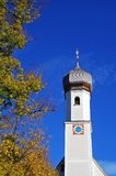 Gmund en Tegernsee Fotografía de archivo libre de regalías