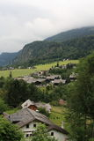 Gmunden, Austria, año 2010 Fotos de archivo libres de regalías