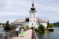 Gmunden, Austria: Schloss (Castle) Ort Stock Images