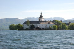 Gmunden - Schloss Orth Royalty Free Stock Photography