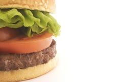 gnälla hamburgaren Royaltyfri Fotografi