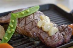 Gnälla steak Royaltyfria Foton