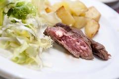 Gnälla steak Arkivfoton