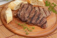 Gnälla steak Royaltyfria Bilder