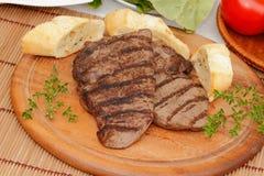 Gnälla steak Fotografering för Bildbyråer