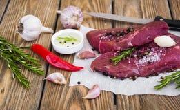 Gnälla steak Arkivfoto