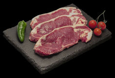 Gnälla steak Royaltyfri Foto